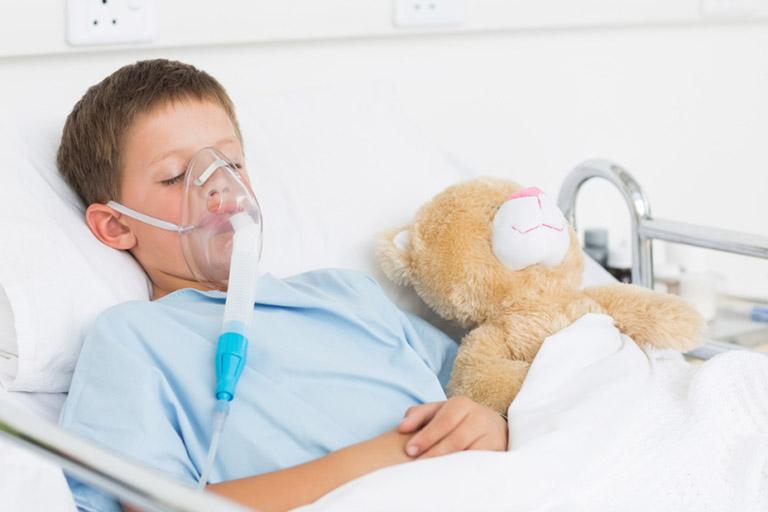 Viêm phế quản ở trẻ em bệnh học
