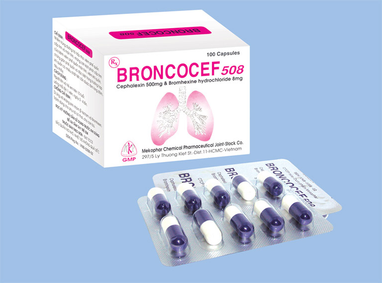 Thuốc Broncocef