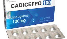 thông tin về thuốc Cadicefpo 100