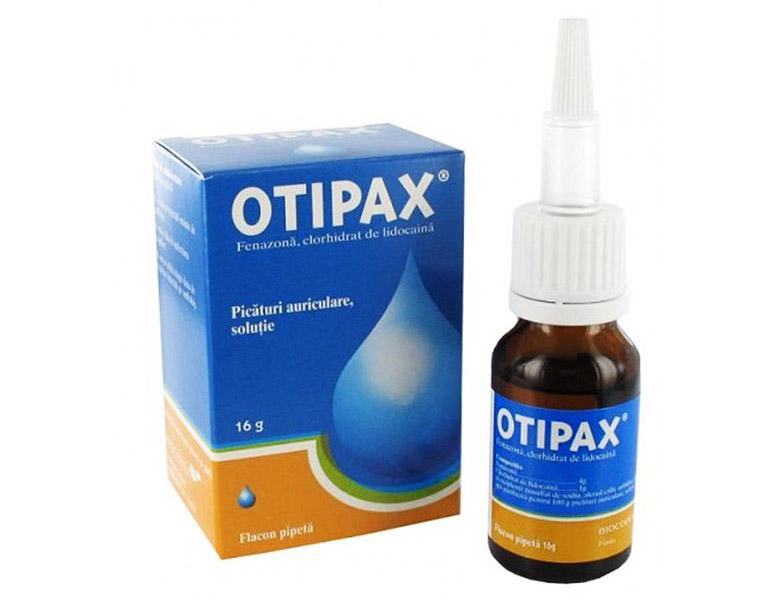 thuốc nhỏ tai Opitax