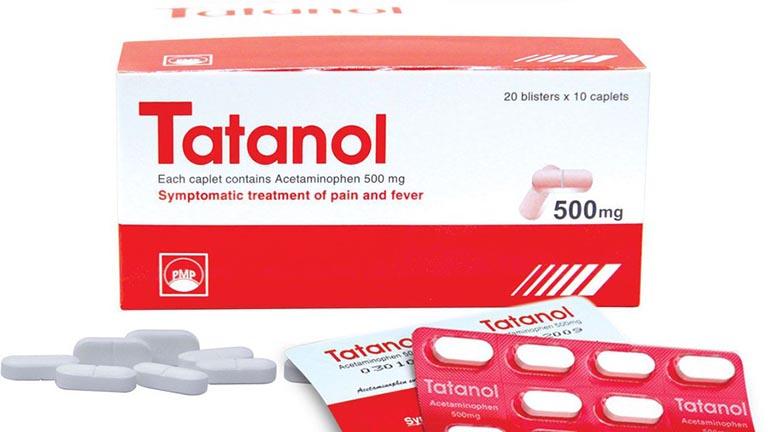 thông tin về thuốc Tatanol 500