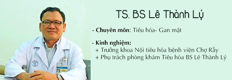 Tiến sĩ, bác sĩ Lê Thành Lý