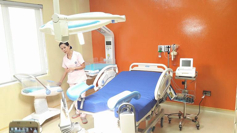 cơ sở vật chất Bệnh viện Đa khoa Tâm Anh