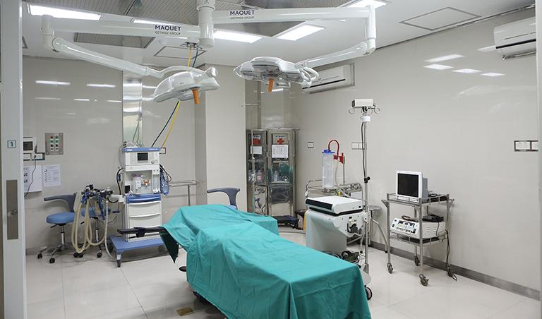 Cơ sở vật chất tại Bệnh viện Nội tiết Trung ương