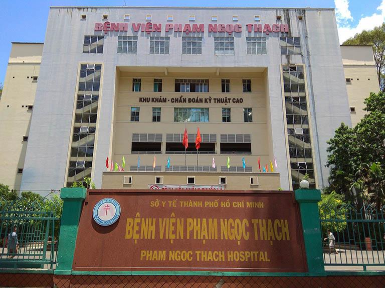 Bệnh viện Phạm Ngọc Thạch chuyên điều trị các bệnh Lao - Phổi