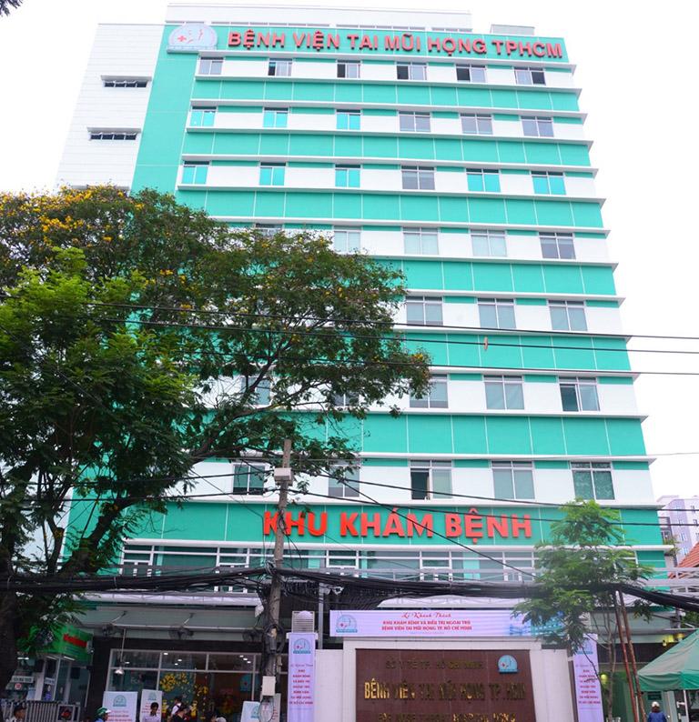 thông tin về bệnh viện Tai mũi họng Tp,HCM