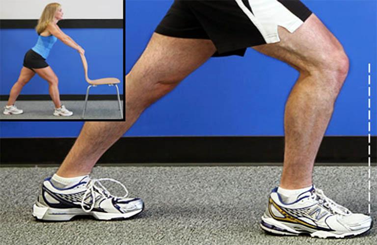 bài tập căng bắp chân