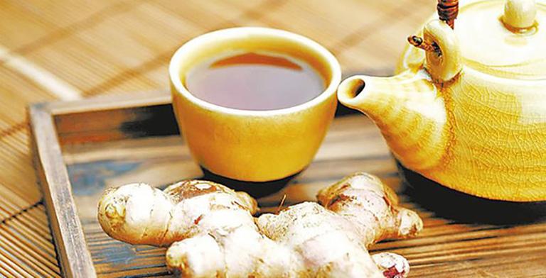 Cách chữa chảy nước mũi tại nhà bằng trà gừng