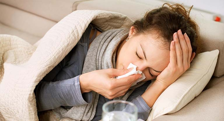 triệu chứng bệnh cảm cúm