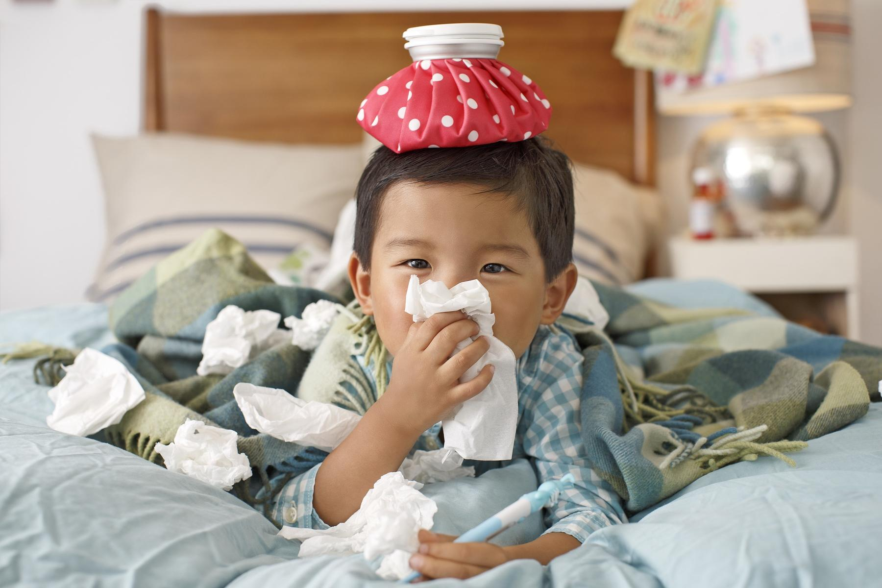 bệnh cảm lạnh ở trẻ