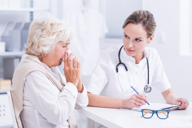 chẩn đoán dị ứng mạt bụi