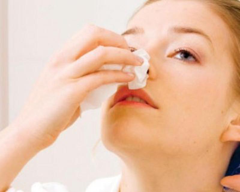 khắc phục chảy máu mũi vào ban đêm