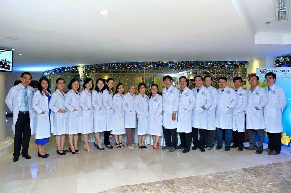 Đội ngũ bác sĩ tại phòng khám Đa khoa Ngọc Minh