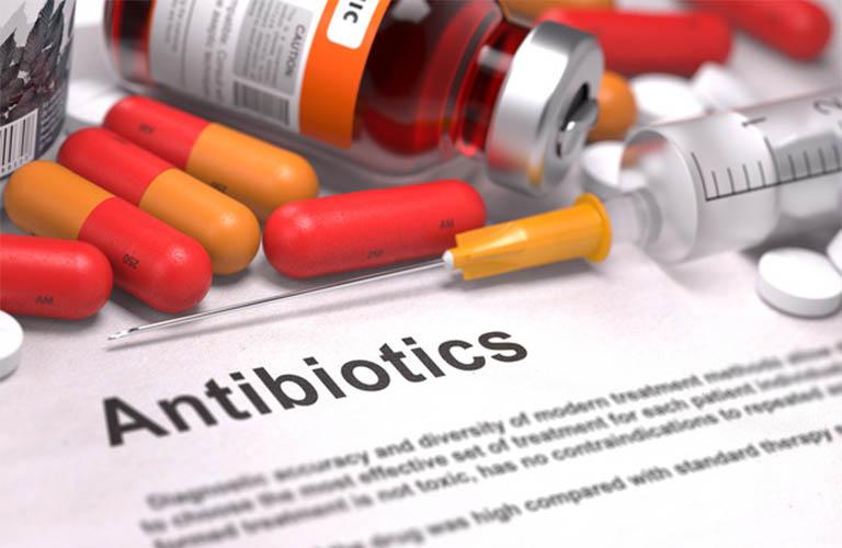 sử dụng kháng sinh điều trị viêm loét dạ dày