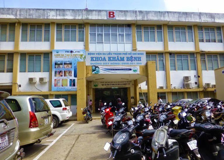 Khoa Khám bệnh của bệnh viện Da Liễu Thành Phố Hồ Chí Minh