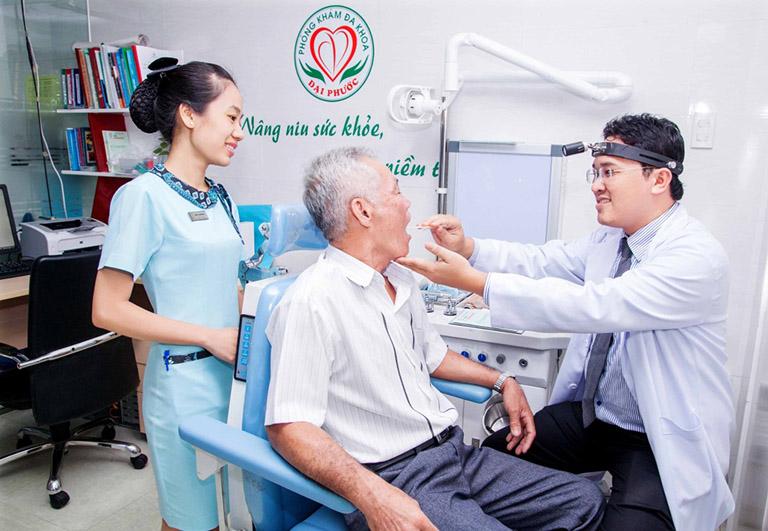 Khoa tai mũi họng phòng khám đa khoa Đại Phước