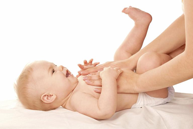 hướng dẫn massage cho bé