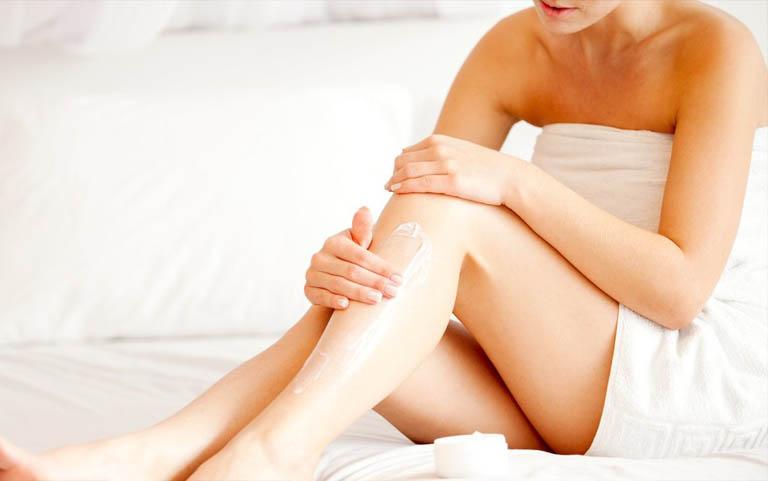 cách trị ngứa da sau khi tắm