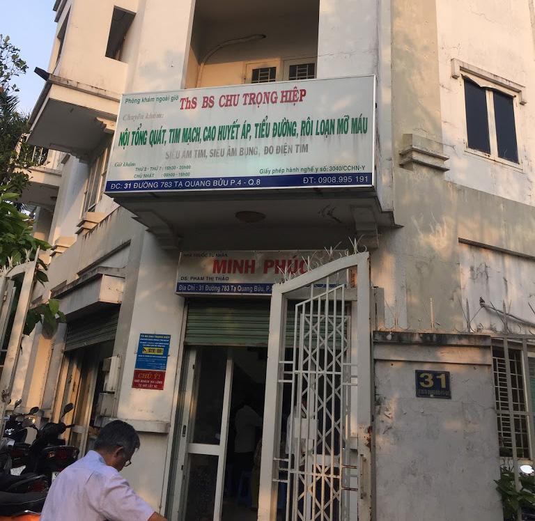 Phòng khám bác sĩ Chu Trọng Hiệp