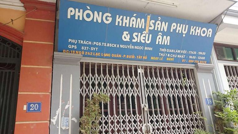 Phòng khám Sản phụ khoa và Siêu âm - Bác sĩ Nguyễn Ngọc Minh