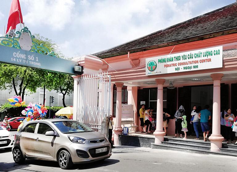 Phòng khám chất lượng cao nội ngoại Nhi bệnh viện Nhi Đồng 2