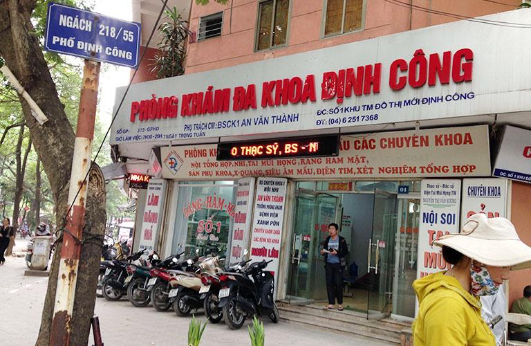 Phòng khám Đa khoa Định Công