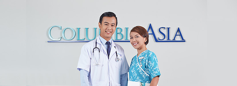 dịch vụ tại phòng khám columbia asia