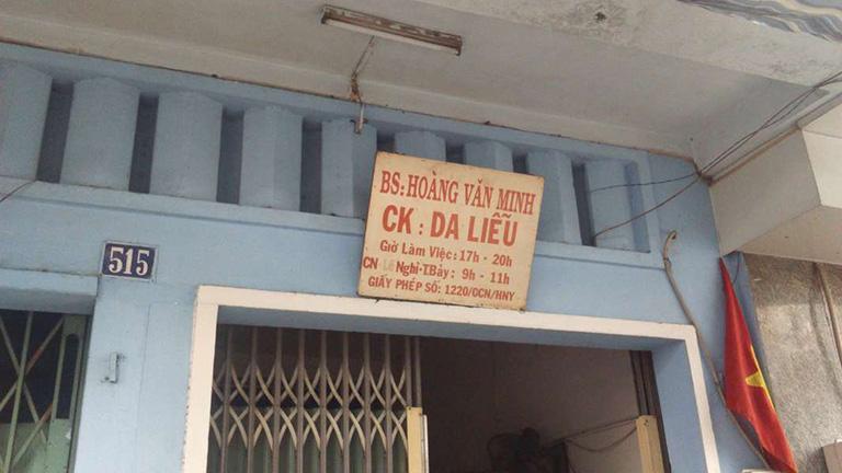 Phòng khám Da liễu - Bác sĩ Hoàng Văn Minh
