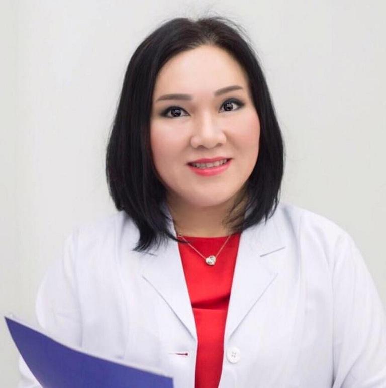 Phụ trách phòng khám da liễu- bác sĩ Võ Thị Bạch Sương