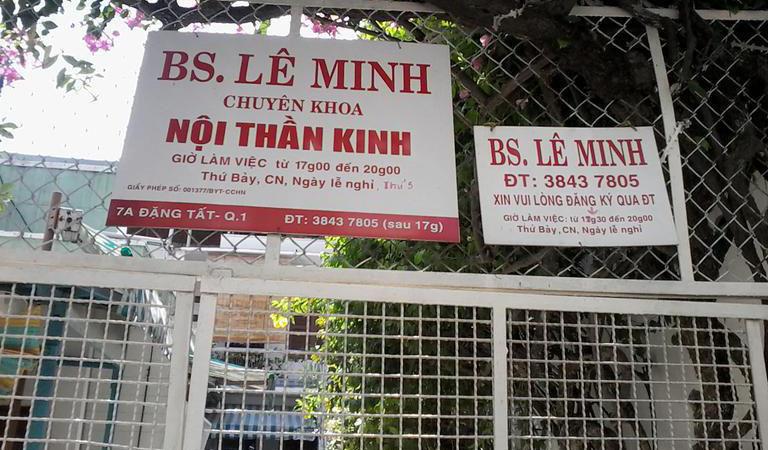 Phòng khám chuyên khoa Nội thần kinh bác sĩ Lê Minh