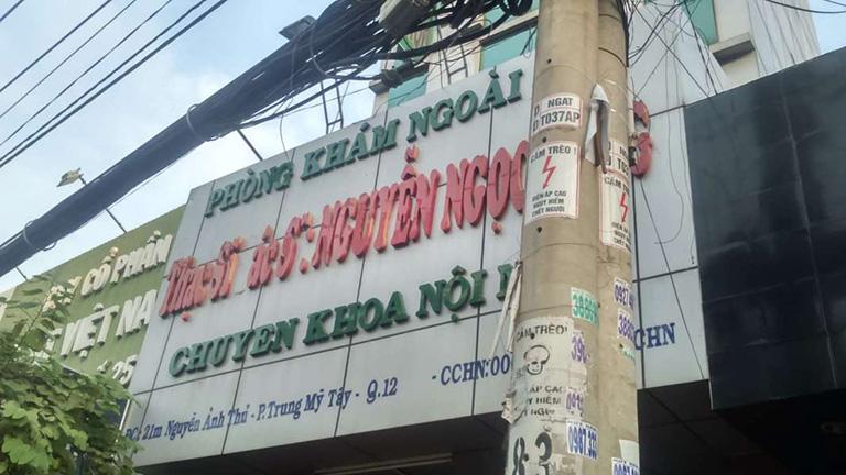 Phòng khám Nội Nhi - Bác sĩ Nguyễn Ngọc Sáng