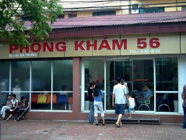 Phòng khám sản phụ khoa 56 Hai Bà Trưng