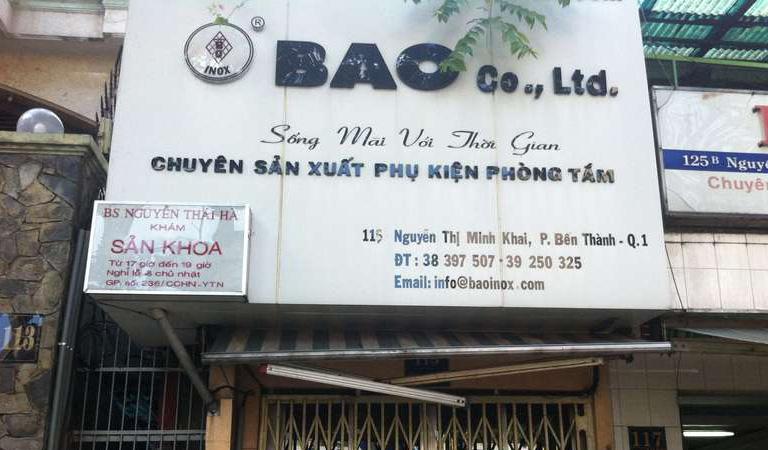 phòng khám sản phụ khoa bác sĩ Nguyễn thái hà