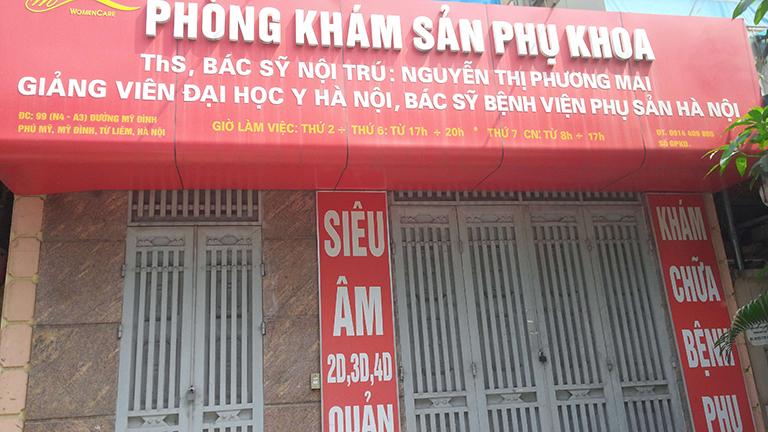 Phòng khám Sản phụ khoa - Bác sĩ Nguyễn Thị Phương Mai