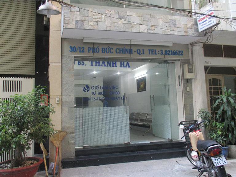 Phòng khám sản phụ khoa - siêu âm: BS. Nguyễn Thị Thanh Hà