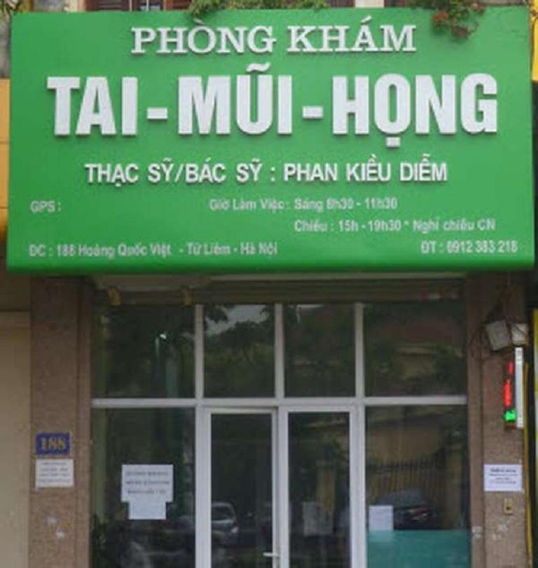 phòng khám tai mũi họng Hà Nội