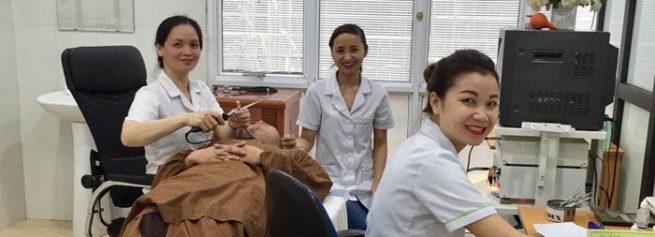 Đội ngũ của phòng khám Tai mũi họng