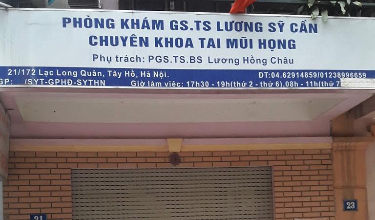 Phòng khám Tai Mũi Họng - Bác sỹ Lương Hồng Châu
