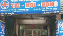 Phòng khám Tai Mũi Họng - Bác sĩ Nguyễn Ngọc Phấn