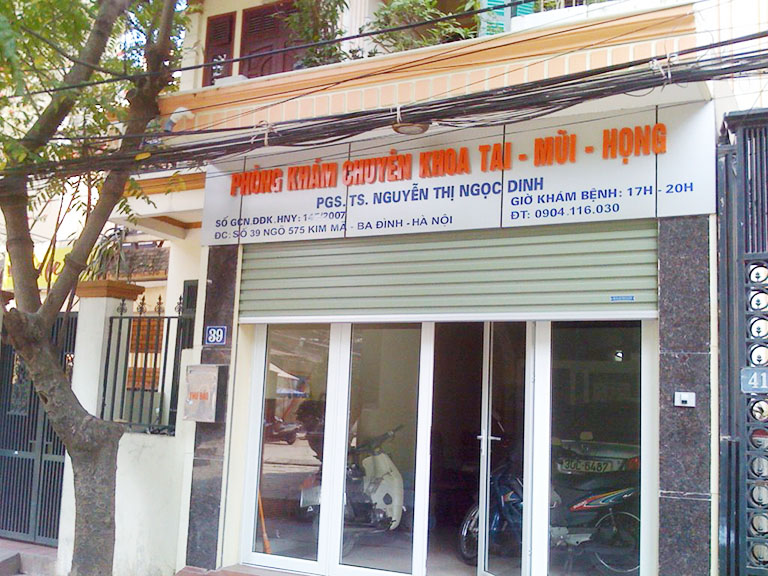 Phòng khám Tai Mũi Họng - Bác sĩ Nguyễn Thị Ngọc Dinh