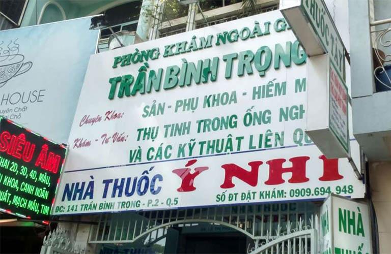 phòng khám Trần Bình Trọng