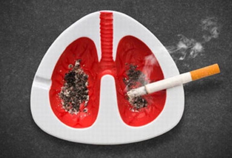 Tác hại của việc hút thuốc lá với phổi