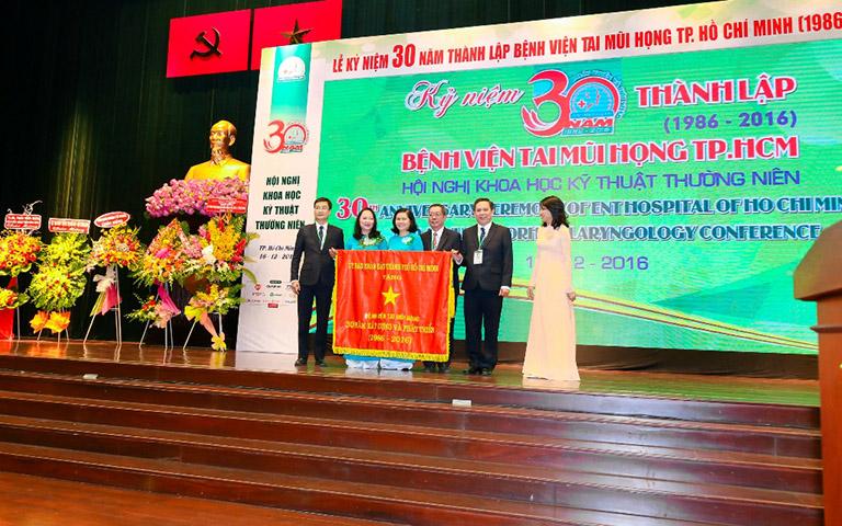 thành tựu của bệnh viện Tai mũi họng Tp.HCM