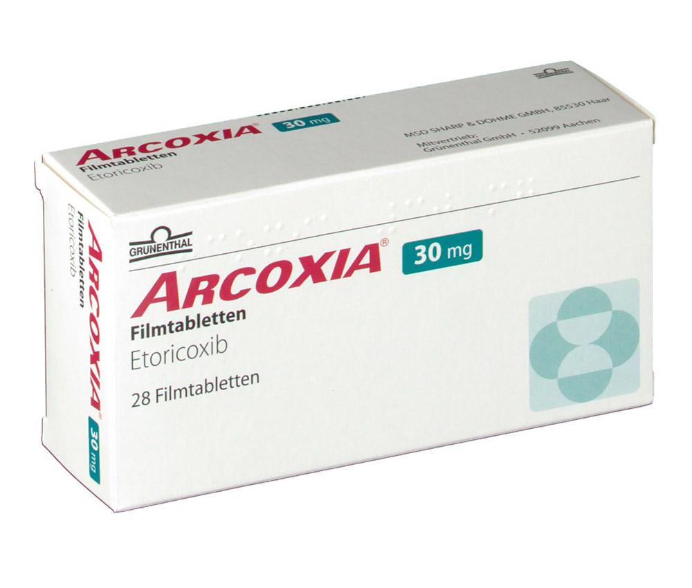 thuốc Arcoxia những điều cần biết