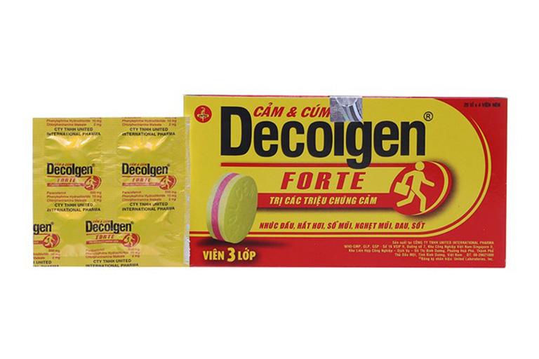 tìm hiểu về thuốc Decolgen
