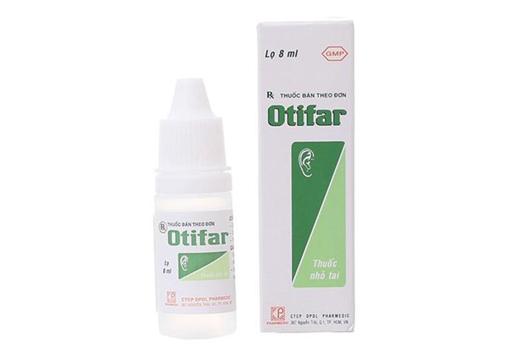 thông tin về thuốc Otifar