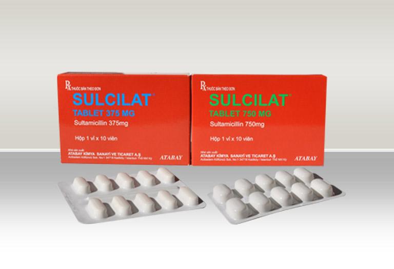 thông tin thuốc Sultamicillin