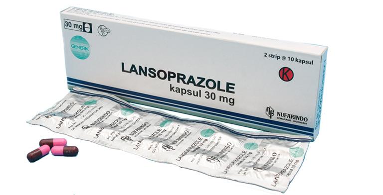 Thuốc lansoprazole điều trị viêm họng trào ngược