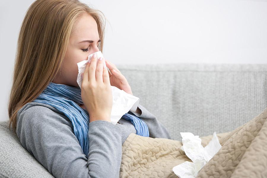 tinh dầu điều trị cảm cúm