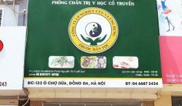 Trung tâm Nghiên cứu và Ứng dụng thuốc dân tộc 132 Ô Chợ Dừa